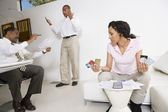 Couple Meeting With Accountant — Stock Photo