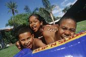 Children Enjoying Themselves — Stock Photo