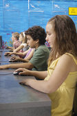 Students In Computer Lab — Stock Photo