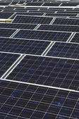 Array Of Photovoltaic Panels — Stock Photo