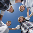 School Friends Forming Huddle — Stock Photo #21830667