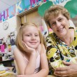 Teacher With Elementary Student — Stock Photo