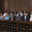 Jury Box In Courtroom — Stock Photo #21832747