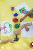 Children Painting — Stock Photo