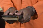 преступных принимая присягу — Стоковое фото