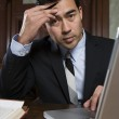 Male Advocate With Laptop — Stock Photo #21861701
