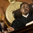 Judge Forming Sentence — Stock Photo