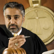 AsiJudge In Courtroom — Stock Photo #21861987