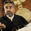 Male Judge Courtroom — Stock Photo #21862005