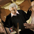 Stock Photo: Couple Arguing In Front Of Judge
