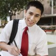 Stock Photo: High School Student