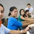 High School Students With Professor In Computer Class — Stock Photo