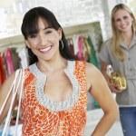femmes shopping — Photo