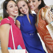 Happy Friends Shopping Together — Stock Photo #21863023
