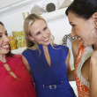 Cheerful Friends Shopping Together - Stockfoto