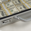Briefcase Full Of Money — Stock Photo #21863945