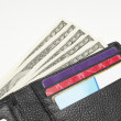 Wallet Full Of Money — Stock Photo
