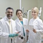 Portrait Of Dentist Team — Stock Photo