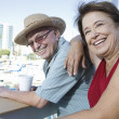 Stock Photo: Mature Couple Enjoying Vacation