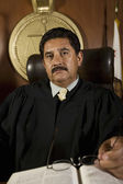 Judge In Courtroom — Stock Photo