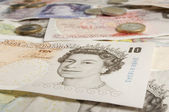 British Paper Currency — Stock Photo