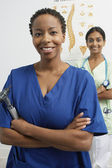 Multiethnic Female Doctors — Stock Photo