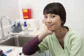 Female Doctor In Hospital — Stock Photo