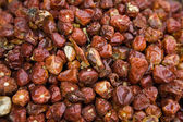 Dried Whole Red Peppers For Sale — Stock Photo