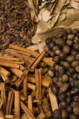 Variety Of Spices Displayed For Sale — Stock Photo