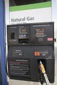 Bomba de combustible de la gasolinera — Foto de Stock