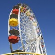Ferris Wheel Against Blue Sky — Stock Photo #21870123