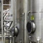 Silos in bottle industry — Stock Photo #21874587