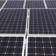 Large solar power panels — Foto de Stock