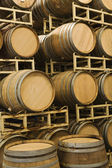 Storage Of Wine Barrels — Stock Photo