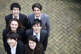 Grupo étnico multi feliz — Foto de Stock