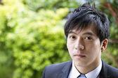 Close-up portrait of confident businessman — Stock Photo