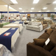 Stock Photo: Interior of furniture store