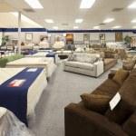 Interior of furniture store — Stock Photo