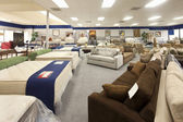 Interior of furniture store — Stock Photo