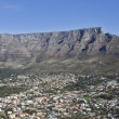 Townscape With Table Mountain - Stock Photo