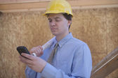 Building Site Inspection — Stock Photo