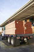 Tablones de madera listos para la exportación — Foto de Stock