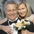 Happy Loving Couple Smiling - Stockfoto