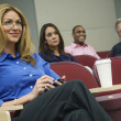 Business Colleagues In A Seminar — Stock Photo