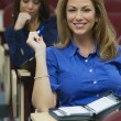 Stock Photo: Female Executives In Business Lecture