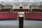 Empty Conference Auditorium — Stock Photo