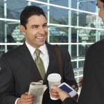 Businessmen Having Coffee Break — Stock Photo #21953479