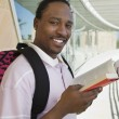 Male Student With Book — Stock Photo #21955363
