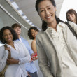 Happy Asian Female Teacher — Stock Photo