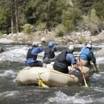 Whitewater Rafting — Stock Photo #21956027